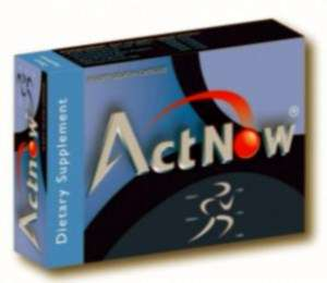 ActNow - diatary supplement capsules