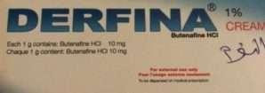 ديرفينا كريم (بُوتِينَافِين 1%).. مضاد للفطريات واسع الطيف