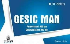 Gesic Man tablets
