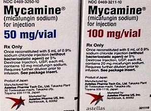 ميكامين (مِيكَافُنجِين) للمعالجة والوقاية من الإلتهابات الفطرية الخطيرة