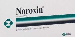 Noroxin tablets