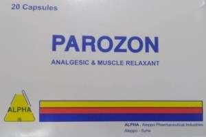 Parozon capsules