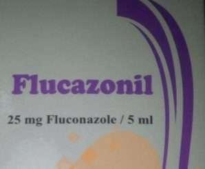 فلوكازونيل 5 ملليجرام/ 1 مللي شراب مضاد للفطريات