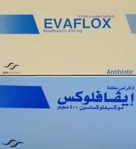 EVAFLOX 400mg film coated tablets