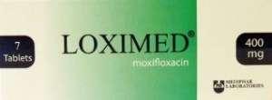 LOXIMED 400 mg tablets Mediphar Laboratories
