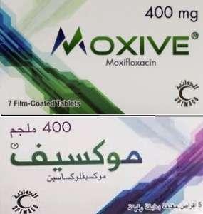 MOXIVE- Moxifloxacin film coated tablets