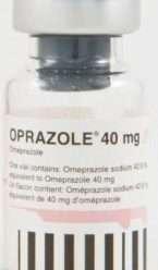 أوبرازول 40 مجم فيال – بودرة مجففة لعمل محلول للتنقيط الوريدي