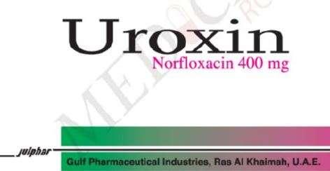 Uroxin 400 mg tablets