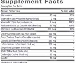 جي إن سي أكستريم سليم – أقراص لتعزيز خسارة الوزن